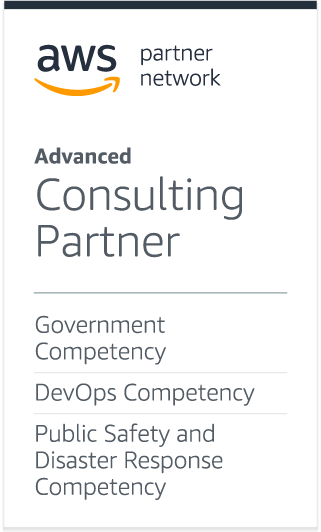 CMMI 2 AWS Partner Network AWS Government & DevOps Competancy  /> 				</div> 				<div class=
